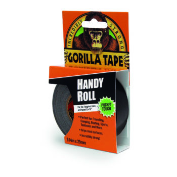 Gorilla Handy Roll Gaffatejp 25 mm