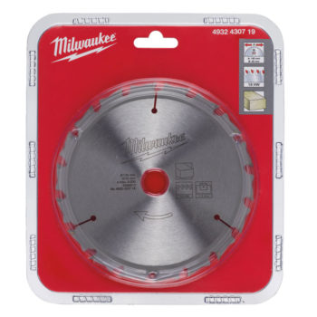 Milwaukee Endurance Wood 18T 140x1,3x20mm