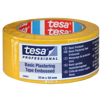 Tesa 4844 Byggtejp Basic Gul 50mm 33m