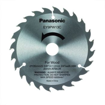 Panasonic EY9PW13C WOOD 24T 135x1,4x20mm
