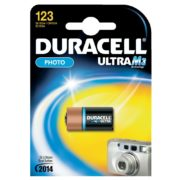 Duracell Ultra M3 lithium 123 3V