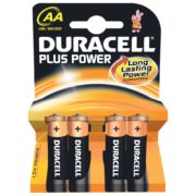 Duracell Plus Power AA 4-pack