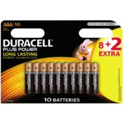 Duracell Plus Power AAA 10-pack