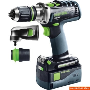 Festool DRC 18/4 Li 5,2-Plus-SCA QUADRIVE