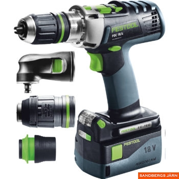 Festool PDC 18/4 Li 5,2-Set/XL-SCA QUADRIVE