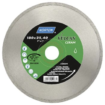 Norton Vulcan Ceram 125x22mm
