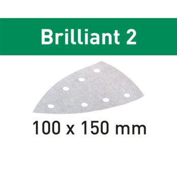 Festool BRILLIANT 2 STF DELTA/7 P120 10-pack