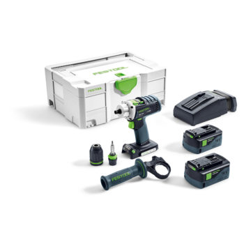 Festool DRC 18/4 Li 5,2-Plus QUADRIVE