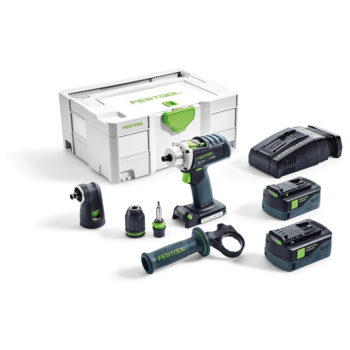 Festool DRC 18/4 Li 5,2-Set QUADRIVE