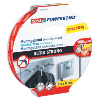 TESA Monteringstejp Powerbond Strong 5MX19MM