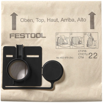 Festool Filtersäck FIS-CT 55 5-pack
