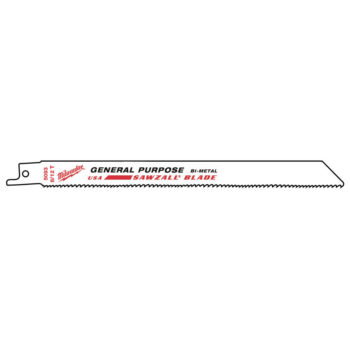 Milwaukee SAWZALL 200mm/8/12TPI 500-pack