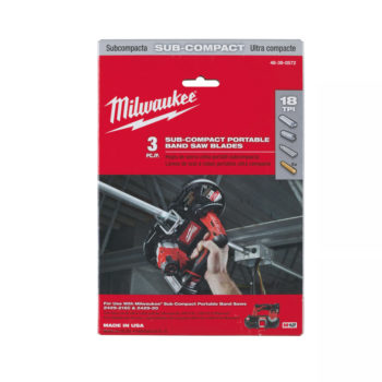Milwaukee M12 Bandsågblad 18TPI 3-pack