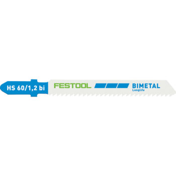 Festool Sticksågsblad HS 60/1,2 BI 5-pack