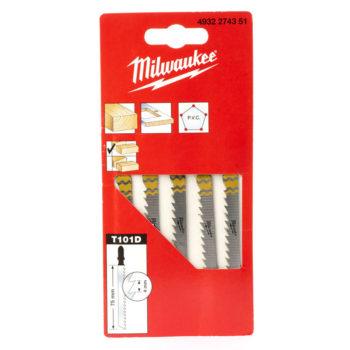 Milwaukee T101D 75/4mm 5-pack