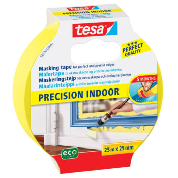 TESA Precision Indoor Maskeringstejp 25mm 25m