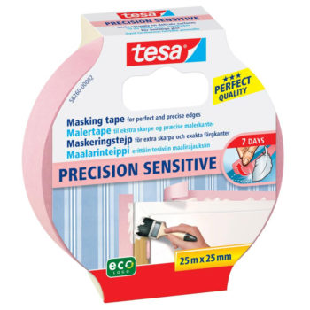 TESA Precision Sensitive Maskeringstejp 25mm x 25m