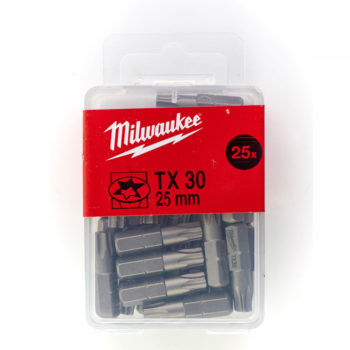 Milwaukee Bits TX 30x25mm 25-pack