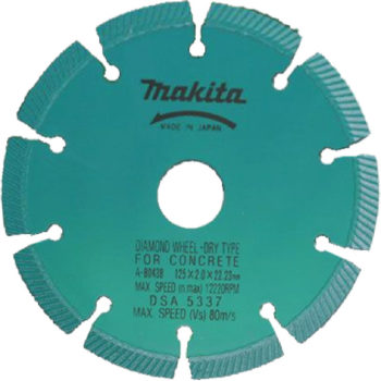 Makita SG1250 125x22.23x7.5mm