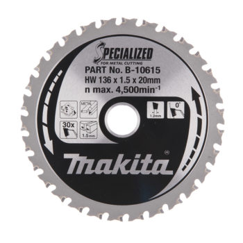 Makita Specialized HM 136x20x1,5mm 30T Metall