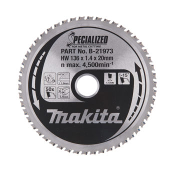 Makita Specialized HM 136x20x1,4mm 50T Metall