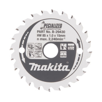 Makita Specialized HM 85x15x1,0mm, 24T Laminat