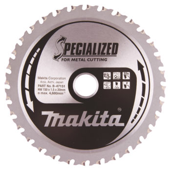 Makita Specialized HM 150x20x1,5mm 32T Metall