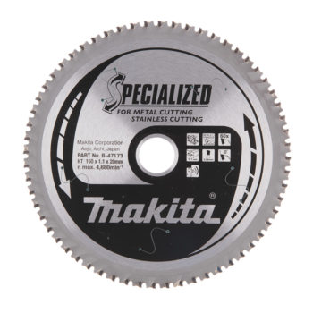 Makita Specialized HM 150x20x1,1mm 60T Rostfritt