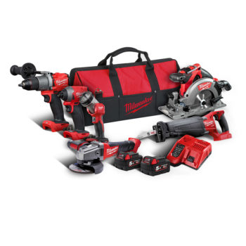 Milwaukee M18 FPP6C2-502B Powerpack