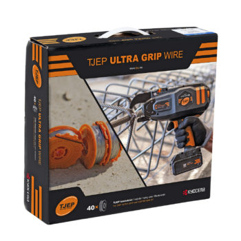 TJEP Najtråd Ultra Grip Wire 0,8mm Förzinkad 40-pack