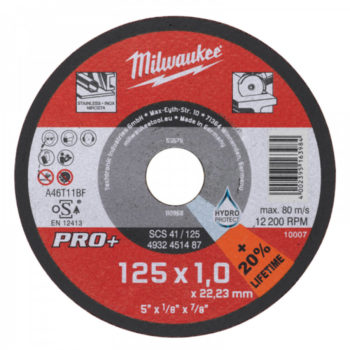 Milwaukee PRO+ SC 41/115x3mm