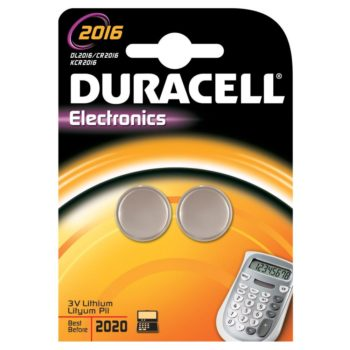 Duracell 2016 LITHIUM C 2-pack