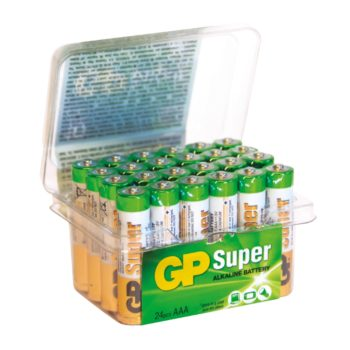 GP Ultra Alkaline LR03/AAA 24-Pack