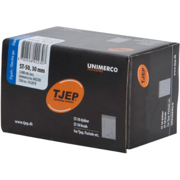 TJEP ST50 30mm ståldyckert FZB Box 3000-pack