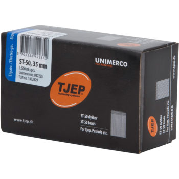 TJEP ST50 35mm ståldyckert FZB Box 1500-pack