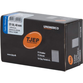 TJEP ST50 40mm ståldyckert FZB Box 1500-pack