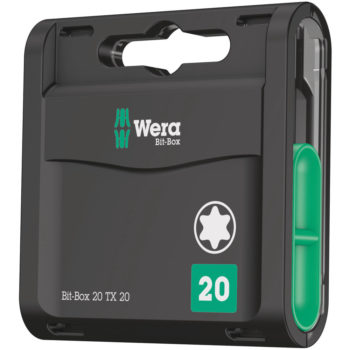 Wera Bit-Box Classic TX25 25mm 20-pack