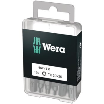 Wera 867/1 Z DIY SiS D6,3 Bits TX40 25mm 10-pack