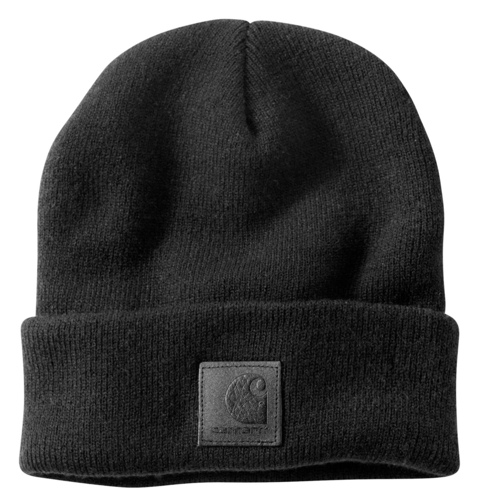 Carhartt Svart Label Watch Hat Svart
