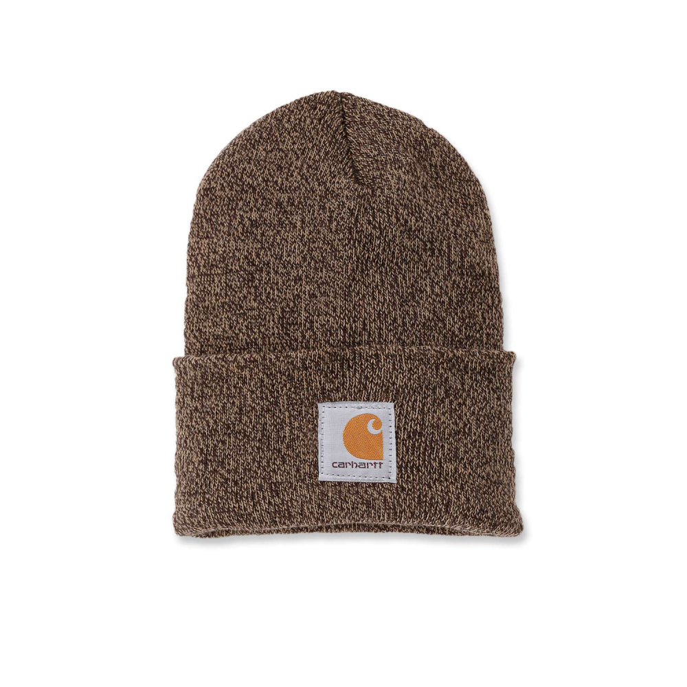 Carhartt Watch Hat Darkbrown/Sandstone