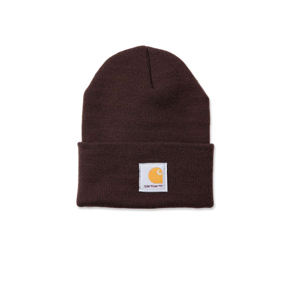 Carhartt Watch Hat Dark brown