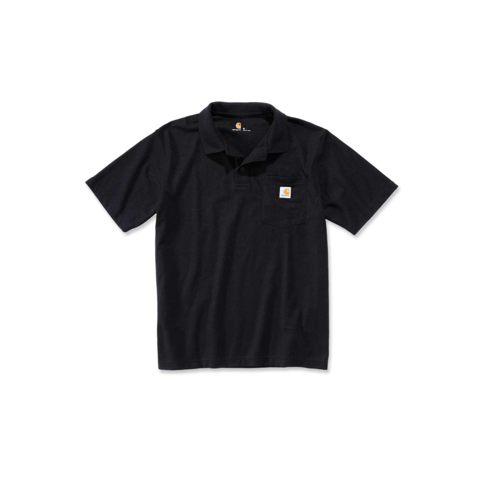 Carhartt Work Pocket Polo S/S Svart XL
