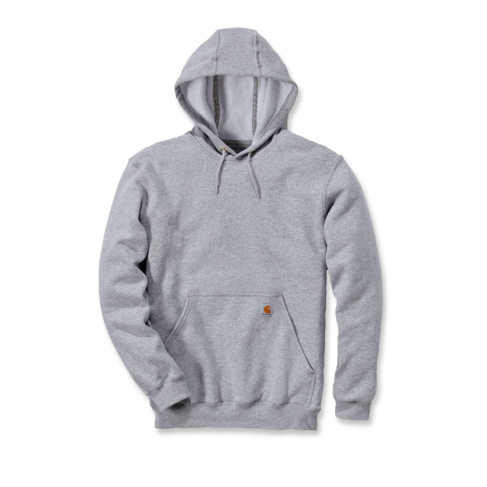 Carhartt Hooded Sweatshirt Heather Grey Large