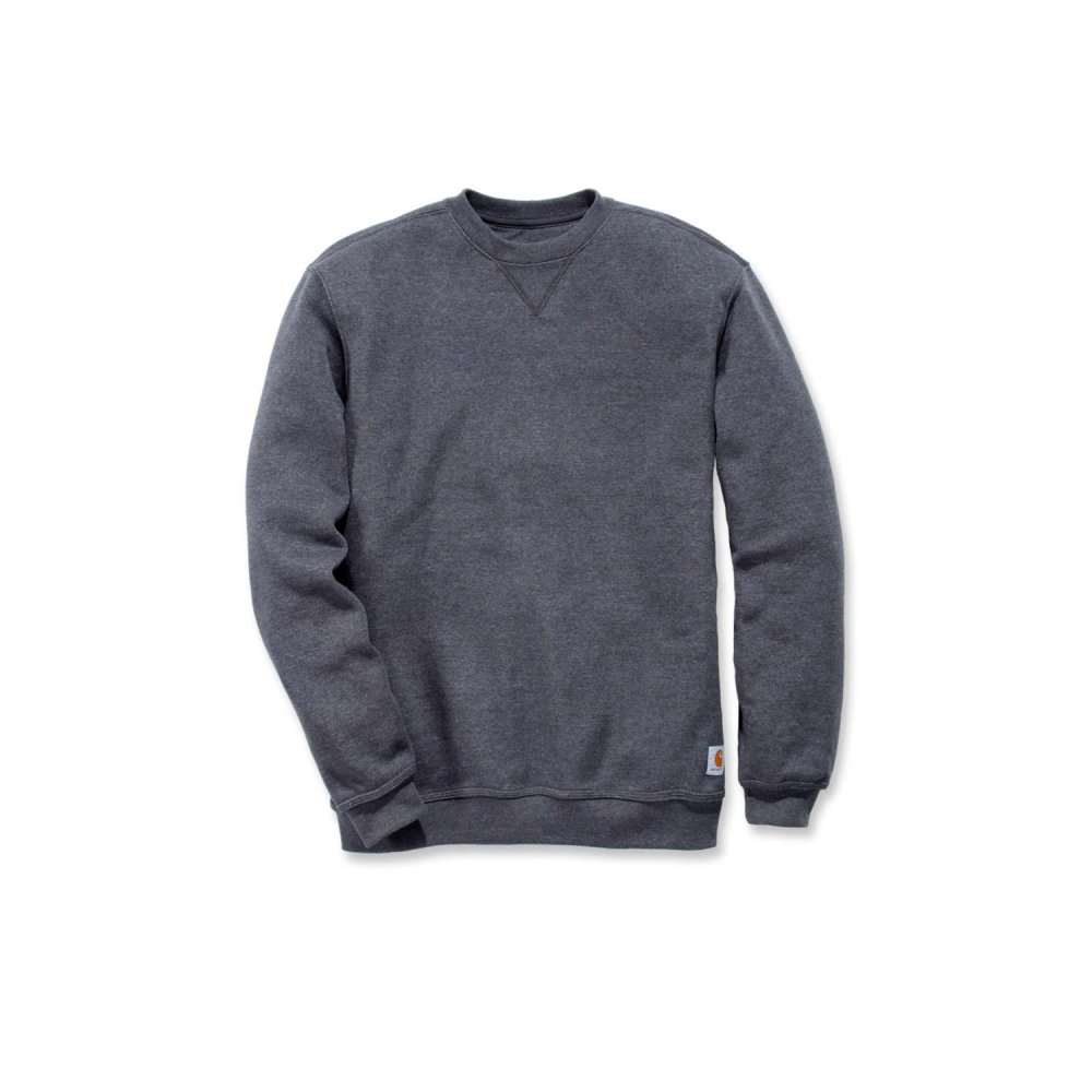 Carhartt Midweight Crewneck Sweatshirt Carbon Heather Small