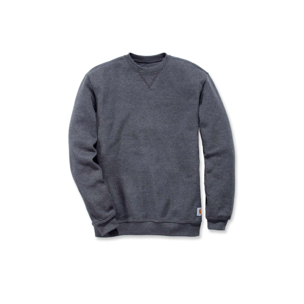 Carhartt Midweight Crewneck Sweatshirt Carbon Heather Large