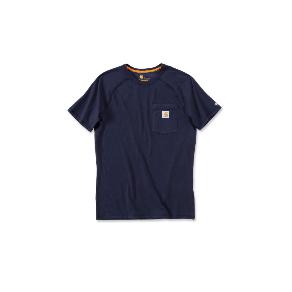 Carhartt Force Cotton T-shirt S/S Navy Large