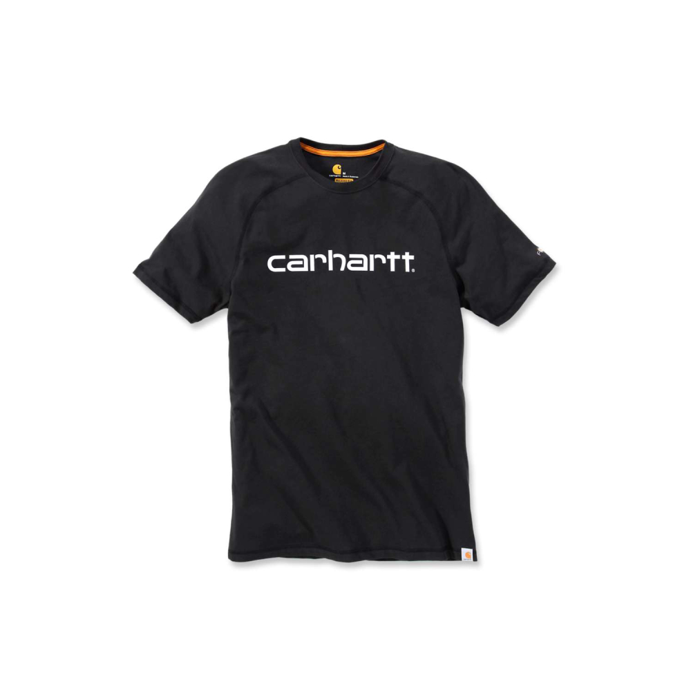 Carhartt Force Delmont Graphic T-shirt S/S Svart Small