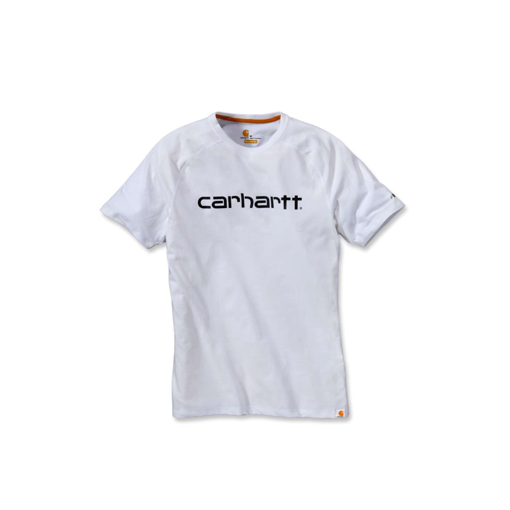 Carhartt Force Delmont Graphic T-shirt S/S Vit Small