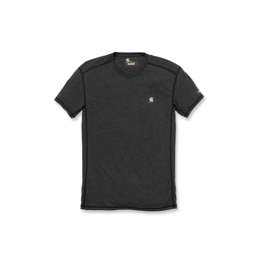 Carhartt Force Extremes T-shirt S/S Black/Black Heather Large