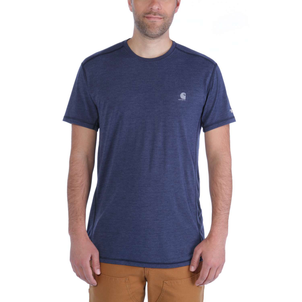 Carhartt Force Extremes T-shirt S/S Navy Heather Medium